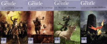 Le livre de Cendres 1, 2, 3 et 4